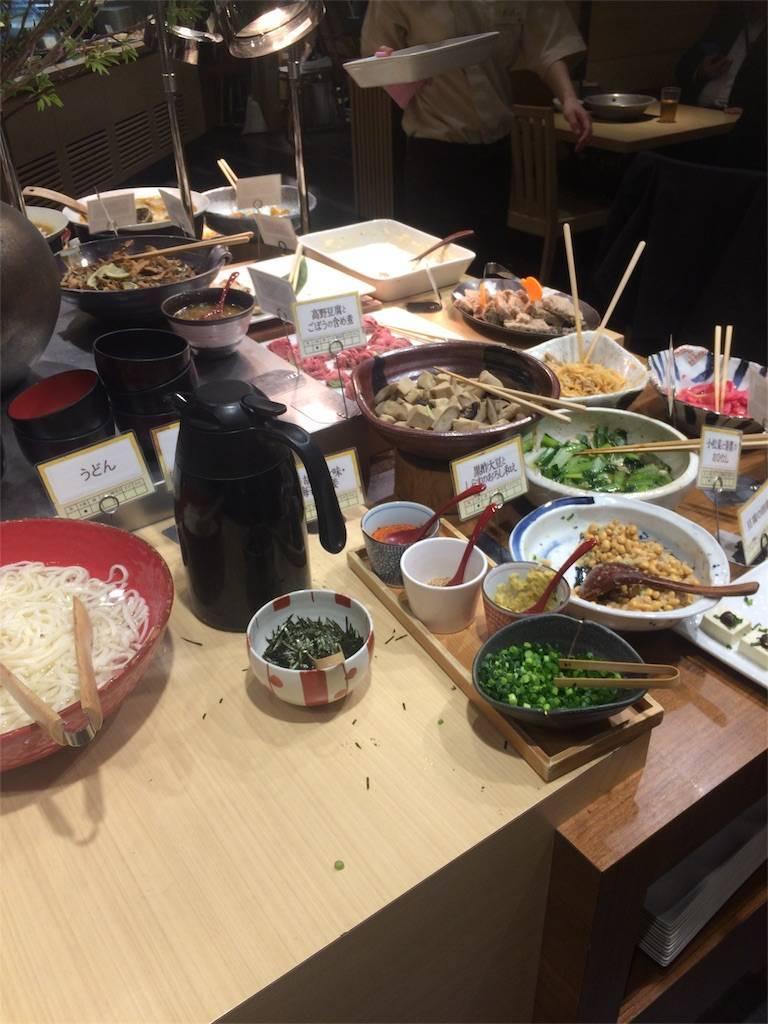 株主優待 クリエイト・レストランツ はーべすと 自然食バイキング1