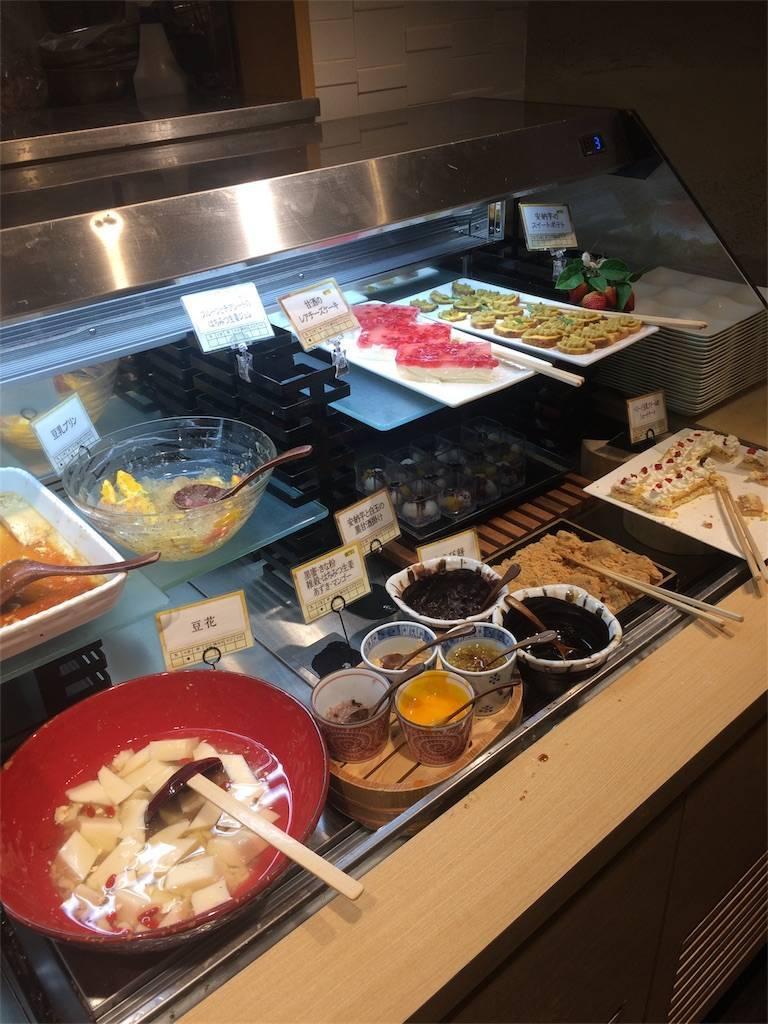 株主優待 クリエイト・レストランツ はーべすと 自然食バイキング デザート