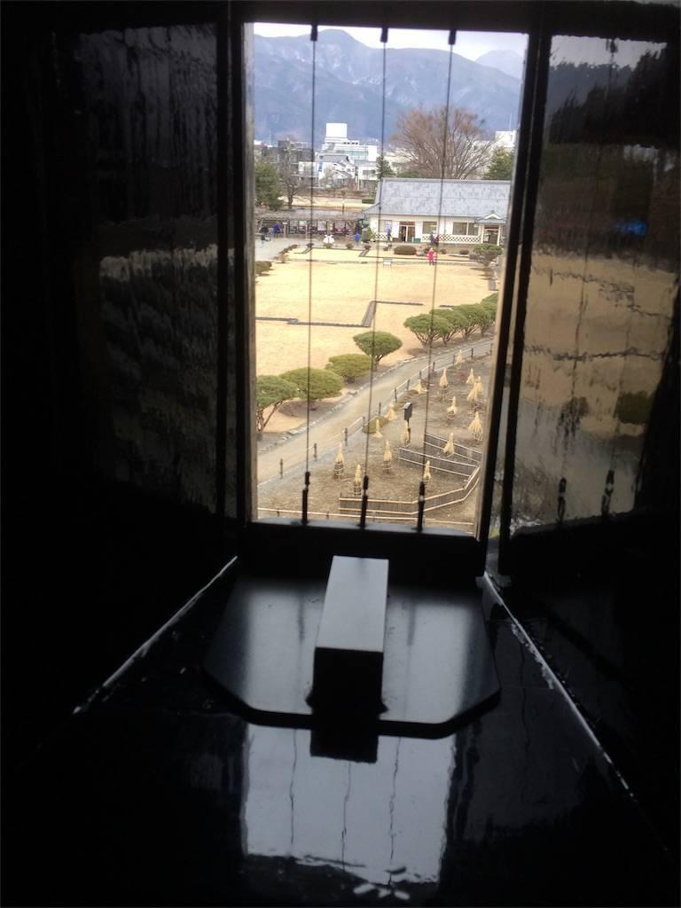 長野 松本城 鉄砲要塞