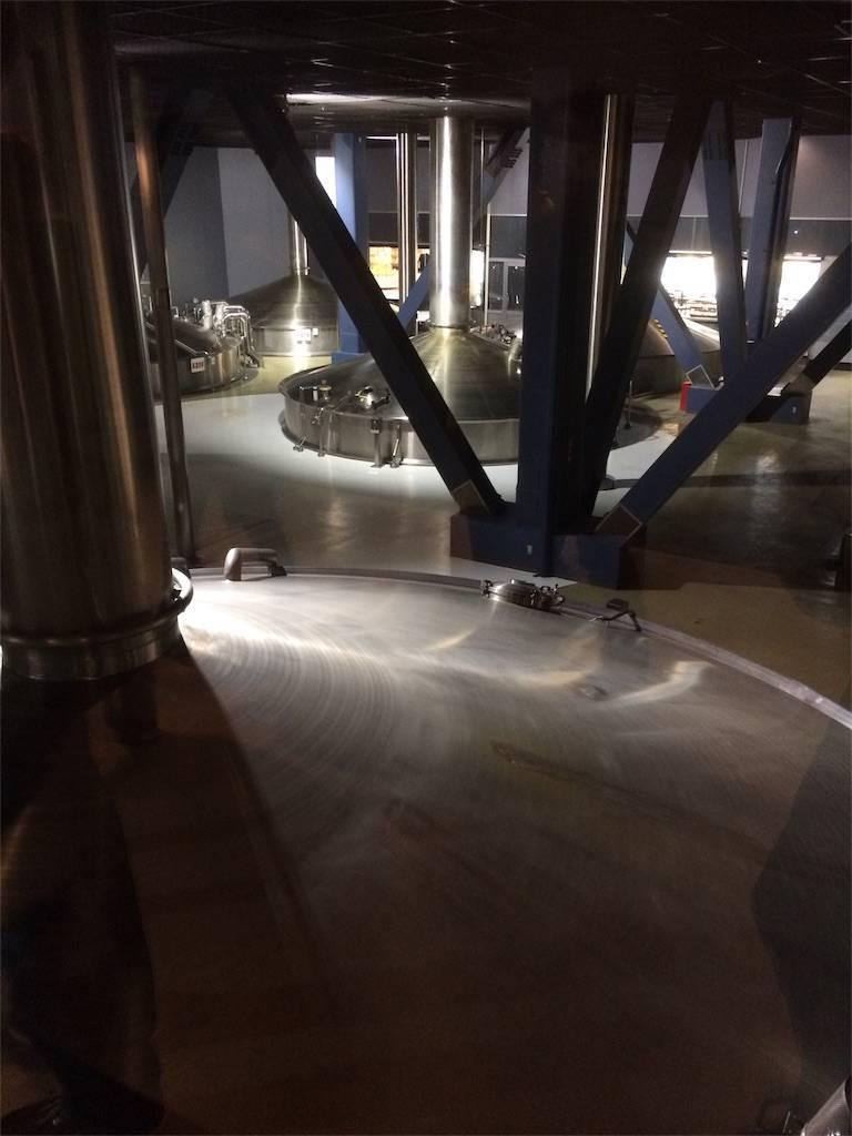 横浜 キリンビール工場 仕込み釜