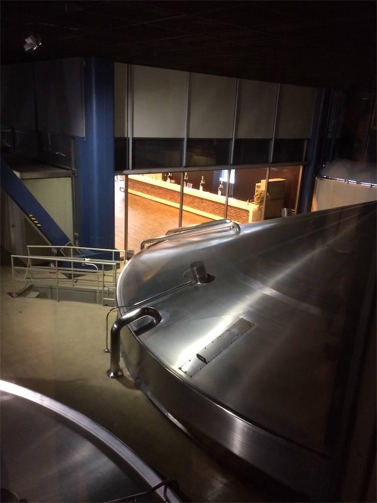 横浜 キリンビール工場 仕込み釜 プロジェクションマッピング