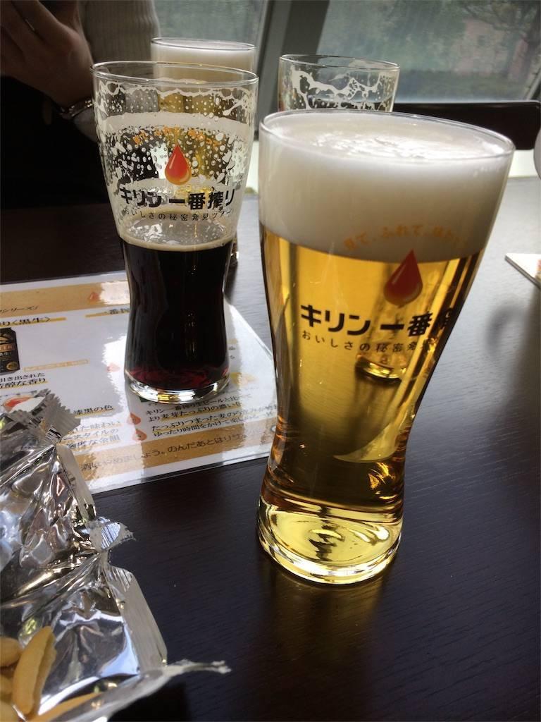 横浜 麒麟ビール 試飲コーナー 一番搾りプレミアム