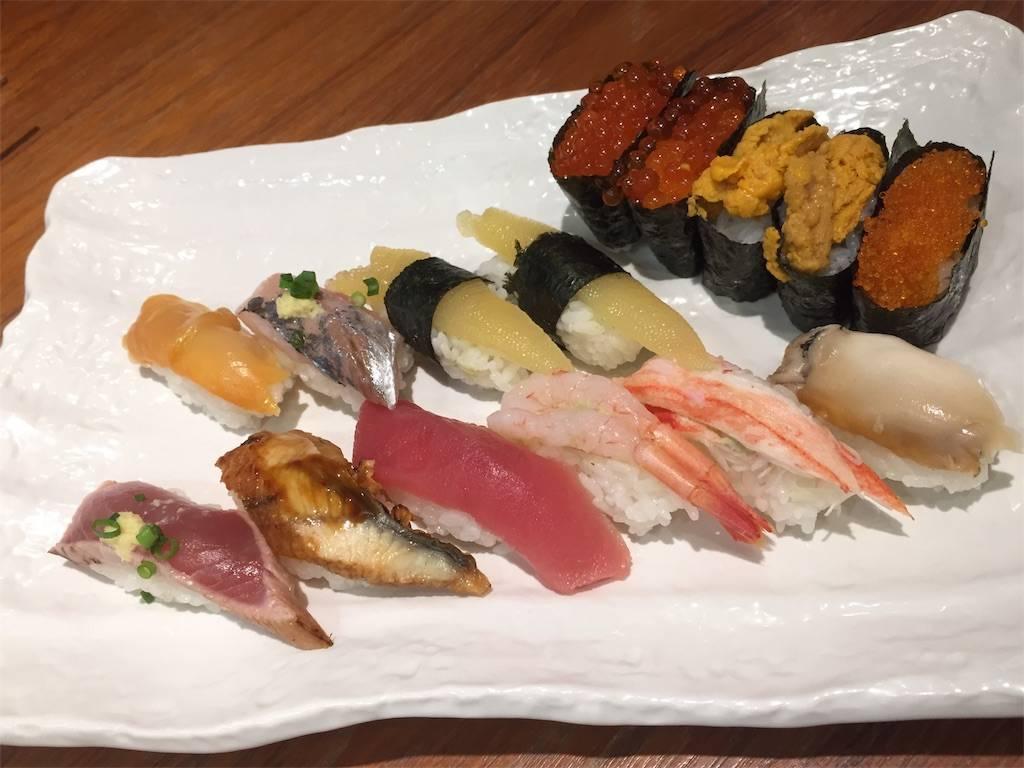 株主優待 クリエイトレストランツ 祭雛 お寿司2 2019年