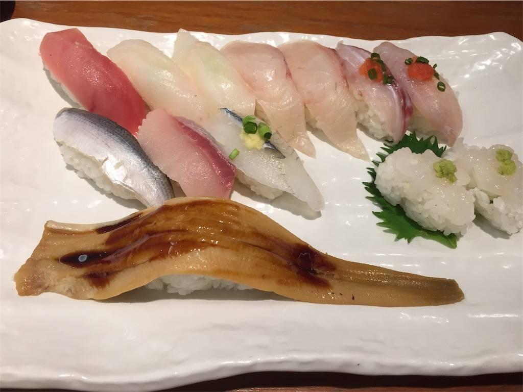 株主優待 クリエイトレストランツ 祭雛 お寿司1 2019年