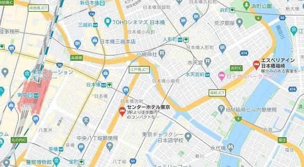 サムティ 株主優待 センターホテル エスペリアイン日本橋箱崎