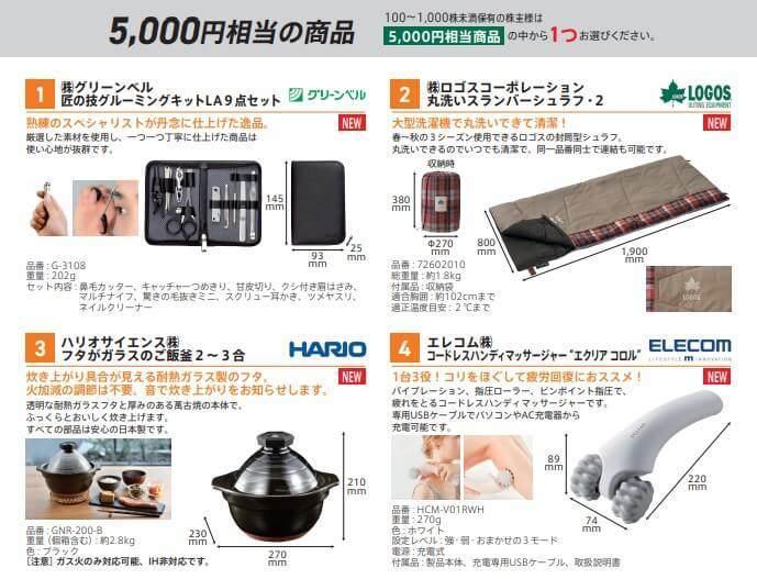 株主優待 トラスコ中山 カタログ品