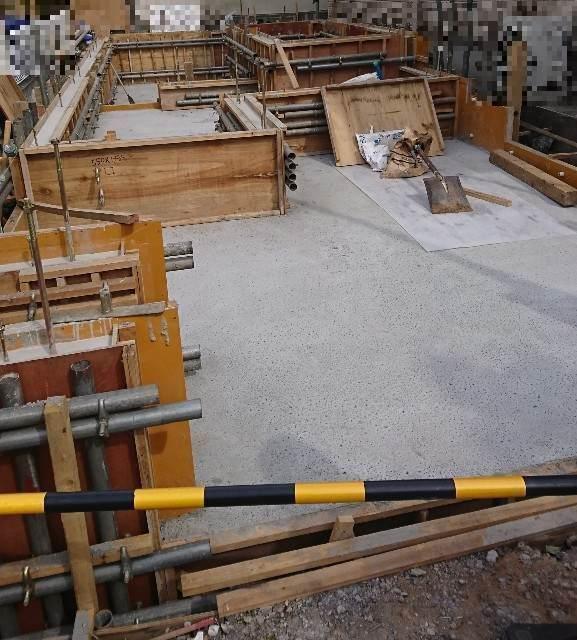 基礎工事 コンクリート打設