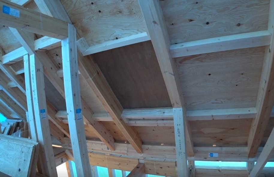 トップライト 天窓 施工前と施工後