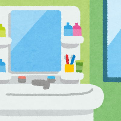 洗面室 洗面器の掃除