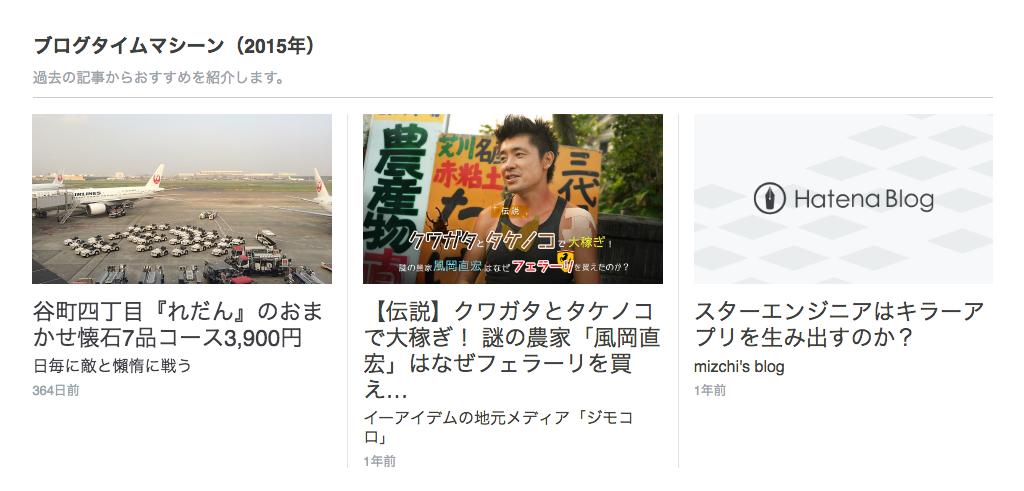 新トップページのブログタイムマシーン