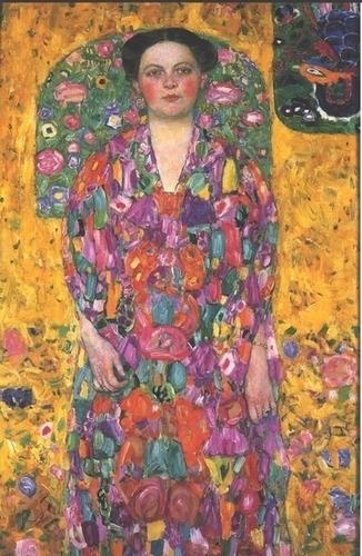 オイゲニア・プリマフェージの肖像 - グスタフ・クリムト