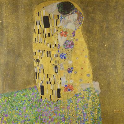 接吻 - グスタフ・クリムト