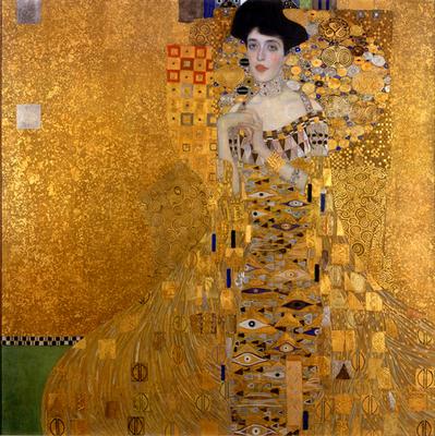 アデーレ・ブロッホ=バウアーの肖像Ⅰ - グスタフ・クリムト