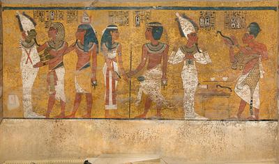 ツタンカーメン埋葬室 北壁
