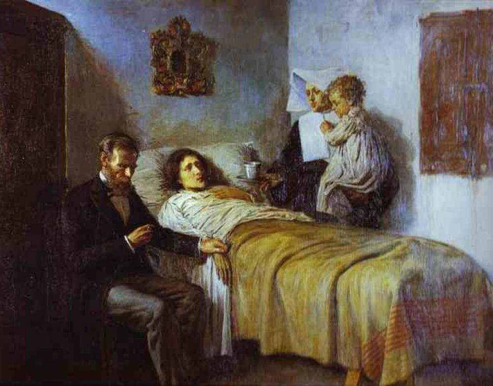 『科学と慈愛』パブロ・ピカソ