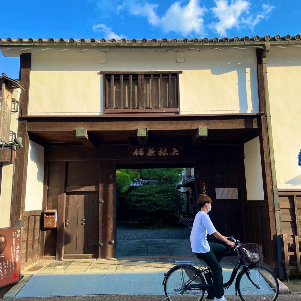 上林春松家の長屋門