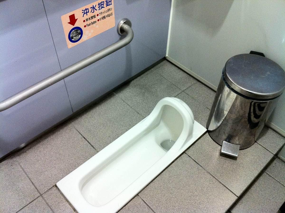台湾のトイレ