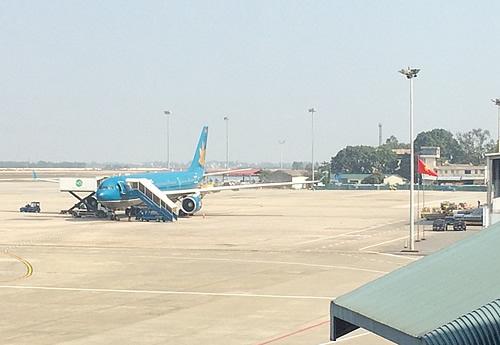 ノイバイ空港から国内線