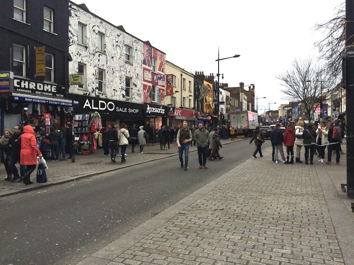 ロンドンではマーケット(市場)が熱い!「カムデンロック マーケット」