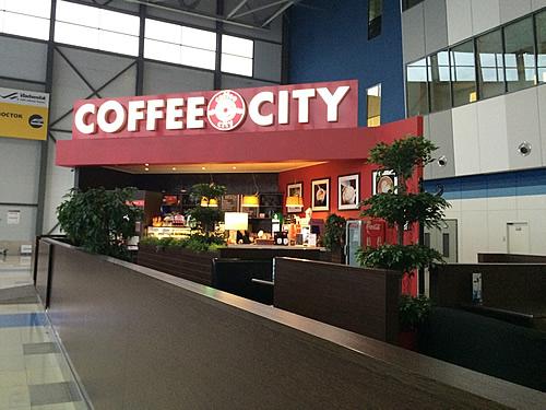 ウラジオストク国際空港に到着!@Vladivostok