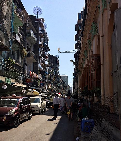 ヤンゴンのインド人街 @Yangon