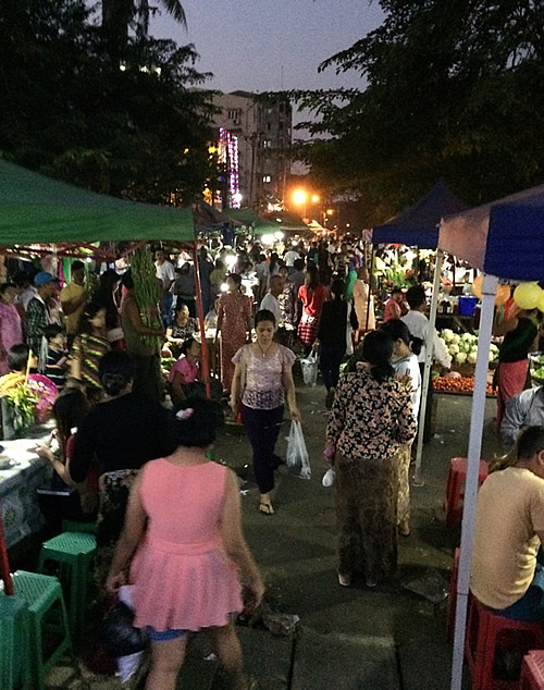夜市「チーミンダイン夜市(Kyee Mying Daing Night Market)」vol.2