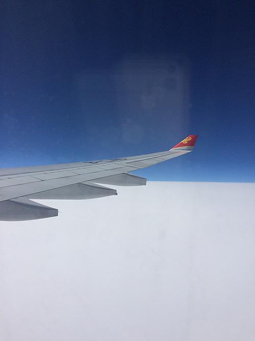 香港航空で香港へ!