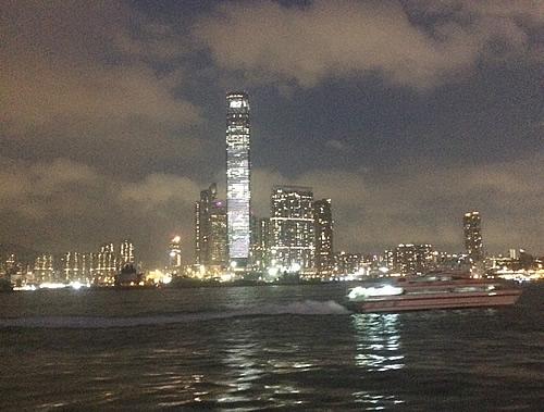 香港 上環のマカオ・フェリーターミナルからフェリーに乗る!