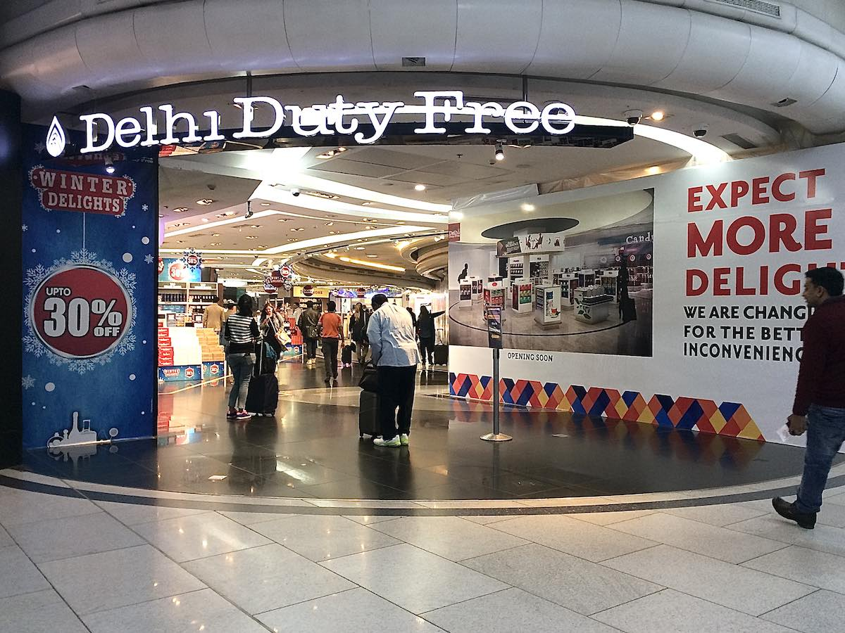 デリー  国際空港 Duty Free