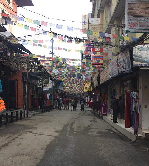 ネパールでの初日の出 @ カトマンズ