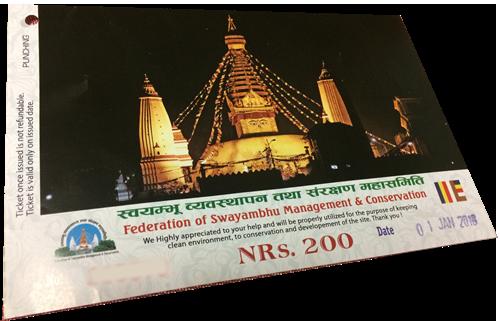 タメル地区から徒歩で世界遺産の寺院へお参り「スワヤンブナート」@ カトマン