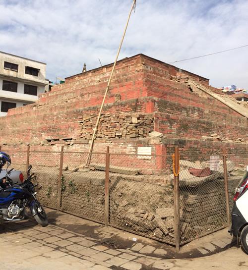 ダルバール広場の「クマリの館」 @ カトマンズ