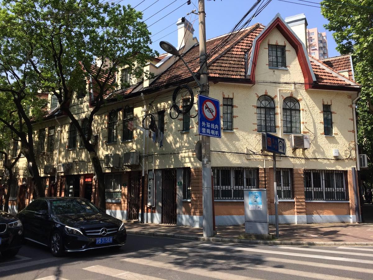 旧フランス租界「衡山路」