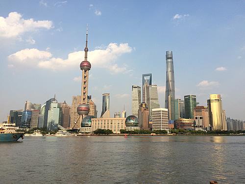 外灘から浦東を臨むと抜群の眺め! @ 上海