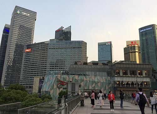 浦東の4大高層ビル・タワー @ 上海