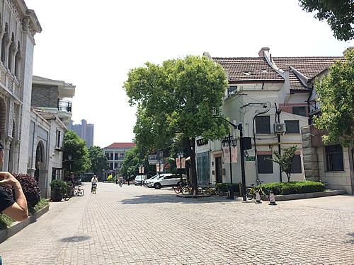 日本租界(旧日本人居留区)の虹口区周辺 @ 上海