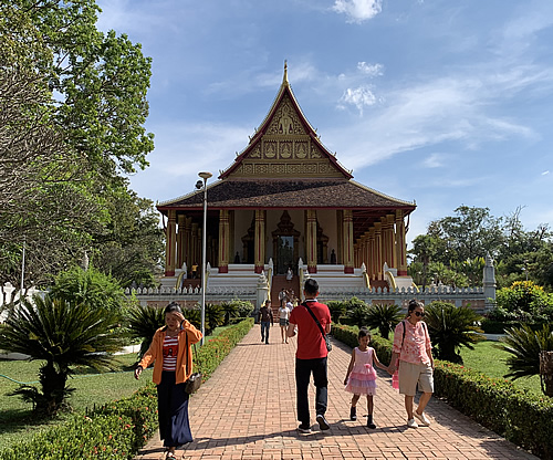 エメラルド仏が保管されていた寺院 ワット・ホーパケオ @ ヴィエンチャン