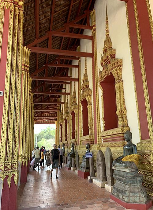 エメラルド仏が保管されていた寺院 ワット・ホーパケオ @ ヴィエンチャンン