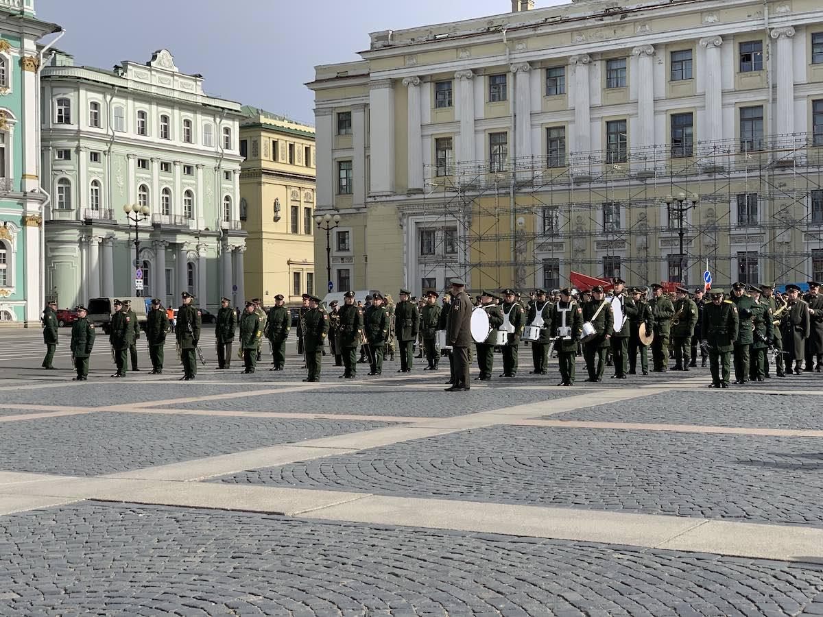宮殿広場 サンクトペテルブルク