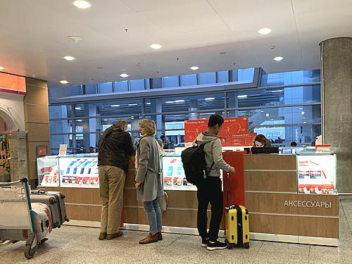 現地でプリペイドSIMを買う<空港編> サンクトペテルブルク