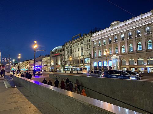 サンクトペテルブルクの夜はロマンチック!