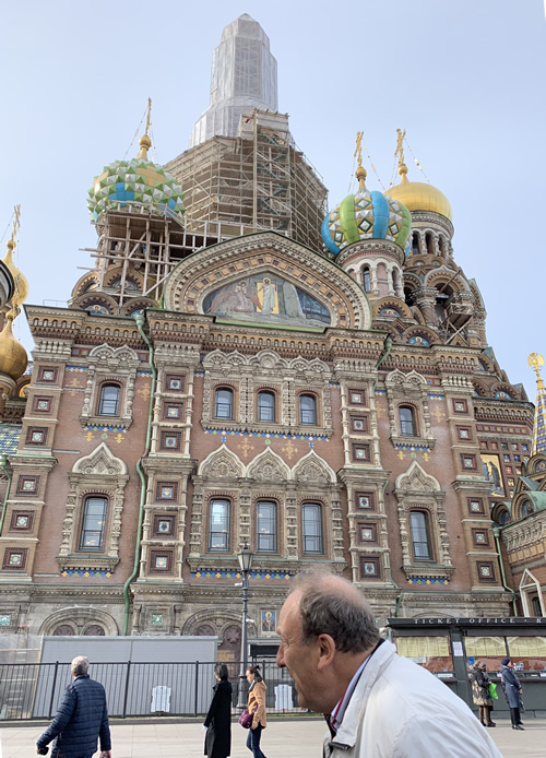 血の上の救世主教会 @ サンクトペテルブルク
