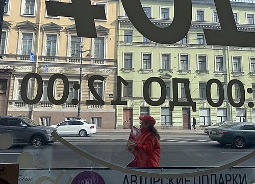 ロシアの人はカフェブレイクが大好き! @ サンクトペテルブルク