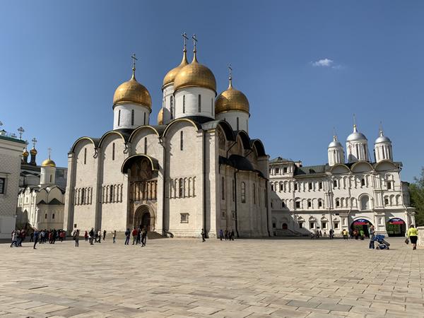 モスクワでははずせない観光地!?クレムリン
