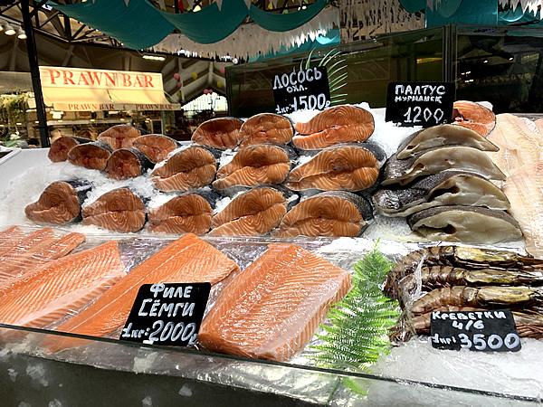 美味しいものも食べられる!「ダニロフスキー市場」@ モスクワ