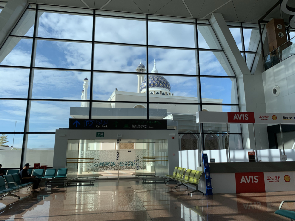 ブルネイ国際空港モスク @ブルネイ