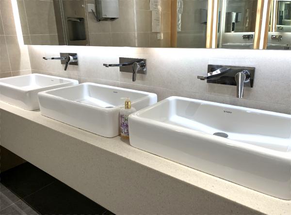 ブルネイ国際空港の唯一のラウンジ!? トイレ