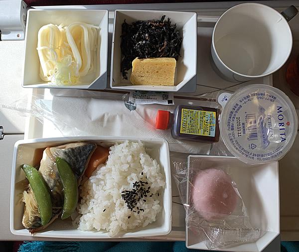 マレーシア航空・クアラルンプール便機内食