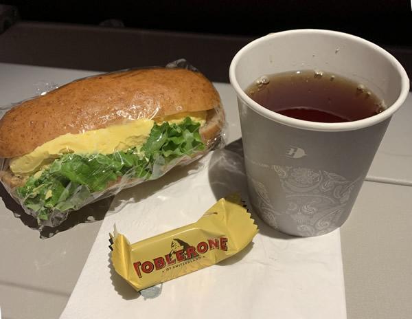 マレーシア航空/エコノミークラスの軽食