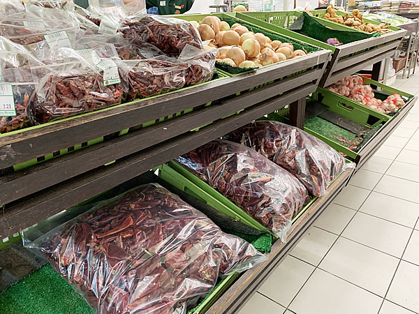 The Mall 地下のスーパーマーケット @ ブルネイ